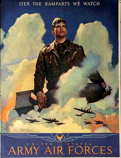Vintage Air Force Poster